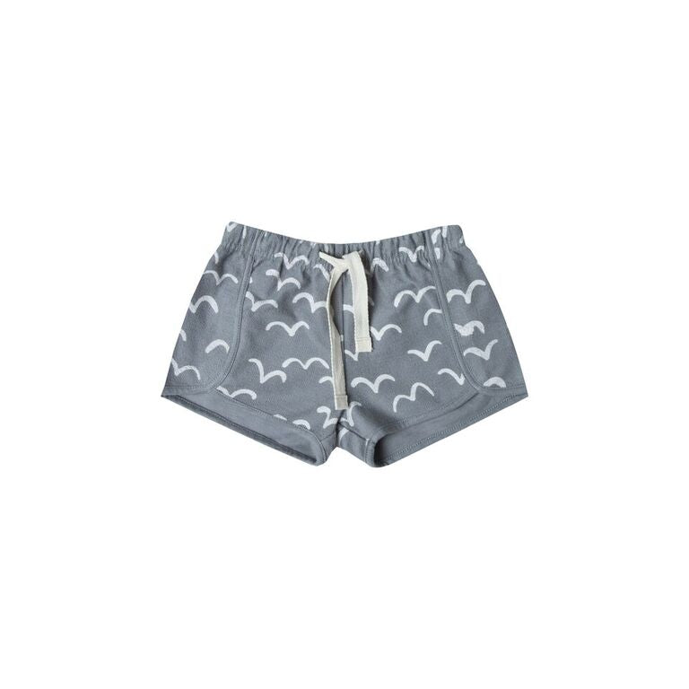 Rylee and Cru shorts in all over bird print. Available at Taylor and Max.