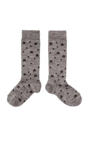Tocoto Vintage Dots and Stars Socks