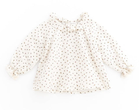 Tocoto Vintage Baby Flowers Blouse