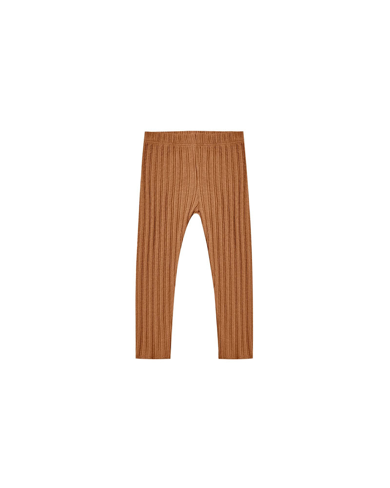 Ribbed Leggings | Cinnamon