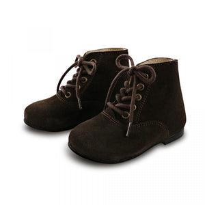 Load image into Gallery viewer, Tocoto Vintage Lace Up Vintage Boots - TAYLOR + MAX