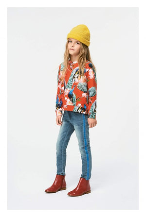 Load image into Gallery viewer, Molo Marlee Red Peacock Sweatshirt - TAYLOR + MAX