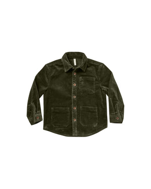 Corduroy Shirt | Forest