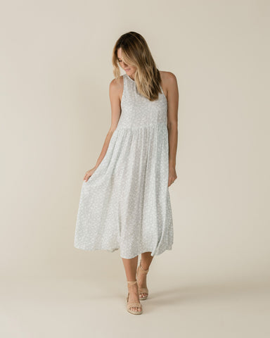 Rylee + Cru Ditsy Zoe Maxi Dress | Women