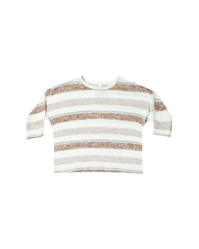 Boxy Striped Tee - TAYLOR + MAX