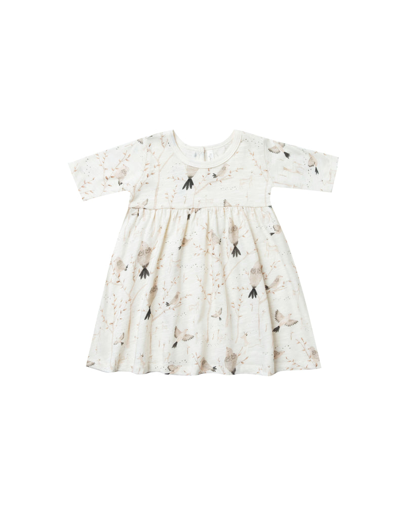Winters Birds Finn Dress - TAYLOR + MAX