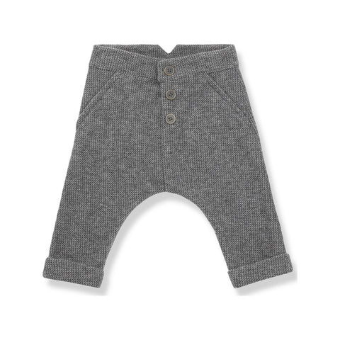 One More In The Family Fitz Harem Pants Charcoal grey