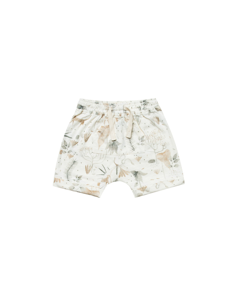 Rylee + Cru Jungle Front Pouch Short