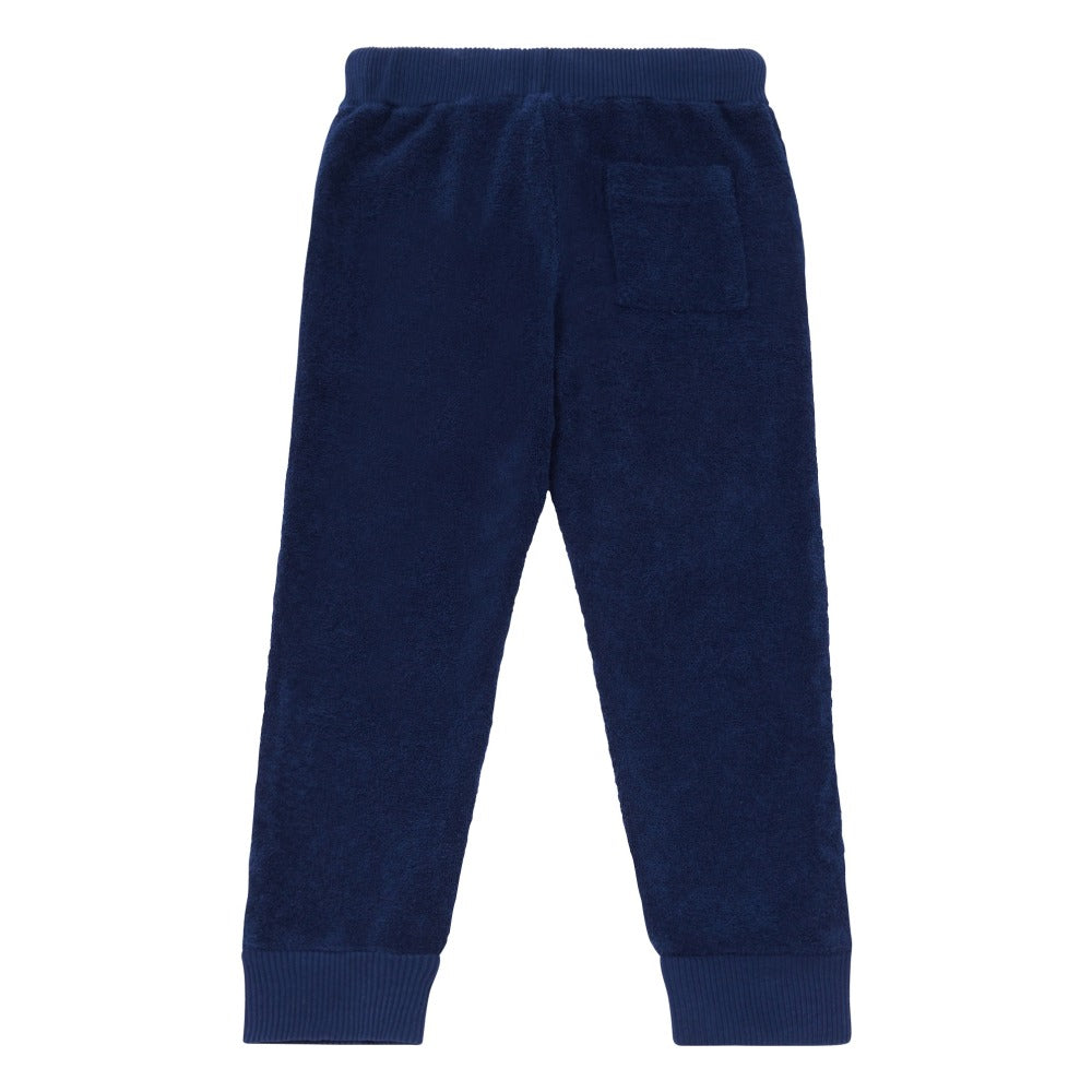 Morley Ike Sponge Jogging Bottoms Midnight blue