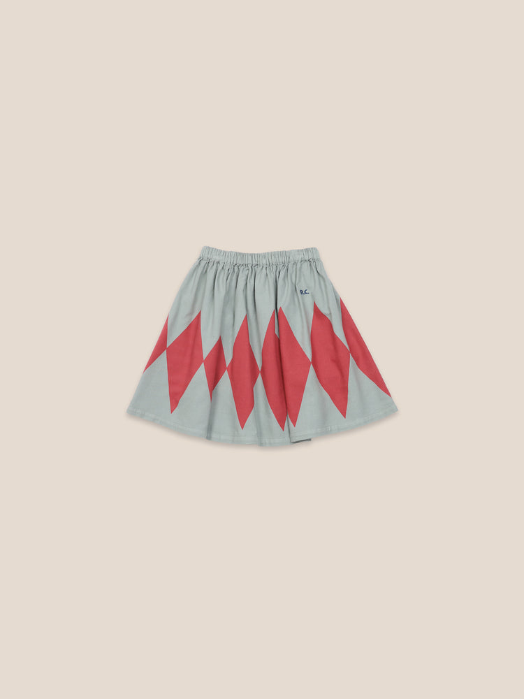 Load image into Gallery viewer, Diamonds Skirt Woven Skirt