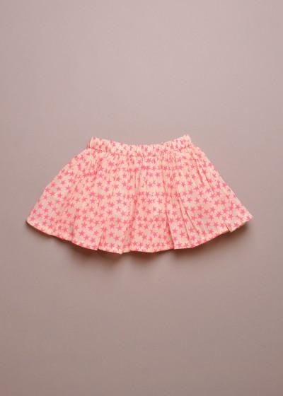 Little Paisley People Pink Star Skirt - TAYLOR + MAX