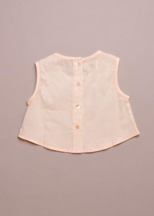 Little Paisley Magic Pink Stitch Top - TAYLOR + MAX