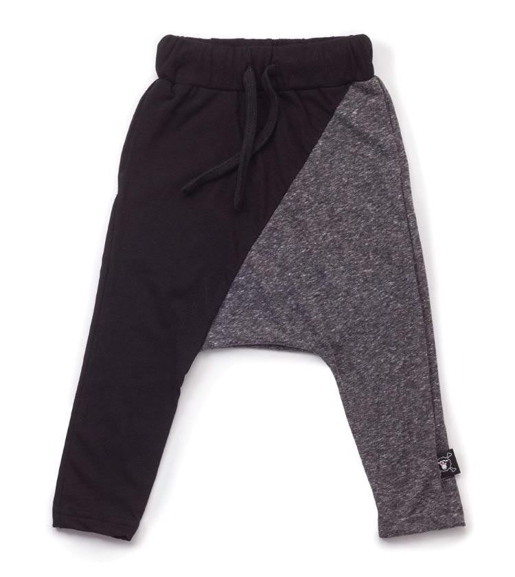 NUNUNU 1/2 & 1/2 Grey Baggy Pants - TAYLOR + MAX