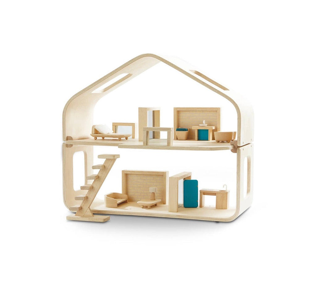 Contemporary DollHouse with Furniture