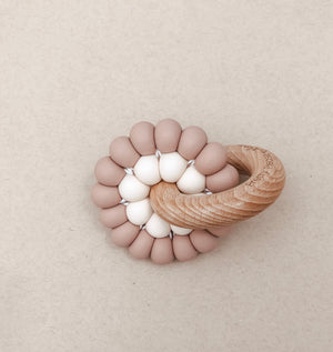 Load image into Gallery viewer, Baby Teether | Mahogany Rose