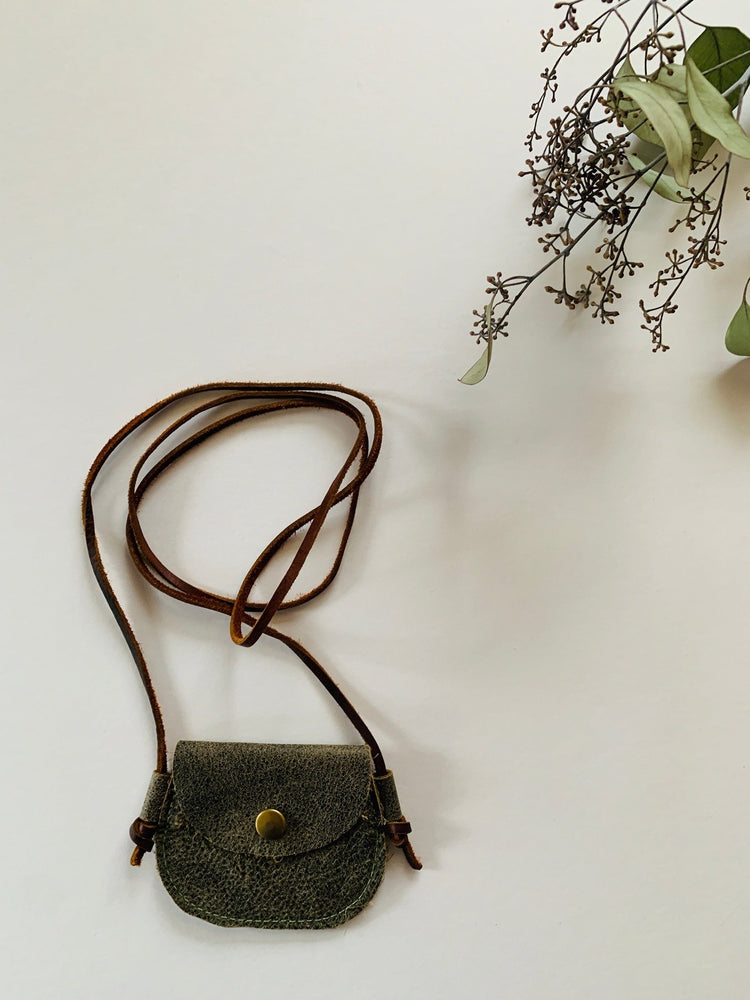 Leather Coin Purse | Green