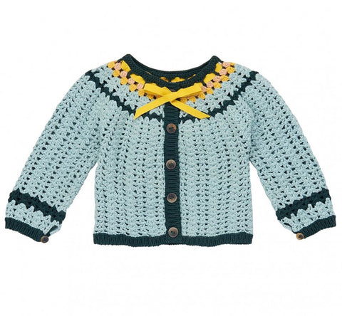 Misha and Puff Golda Cardigan | Faded Indigo