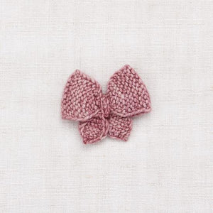 Medium Puff Bow | Antique Rose