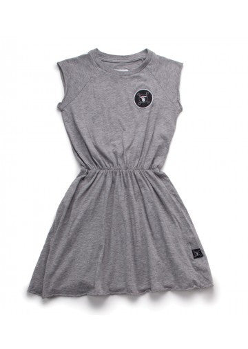 Sleeveless Soft Dress | Grey - TAYLOR + MAX