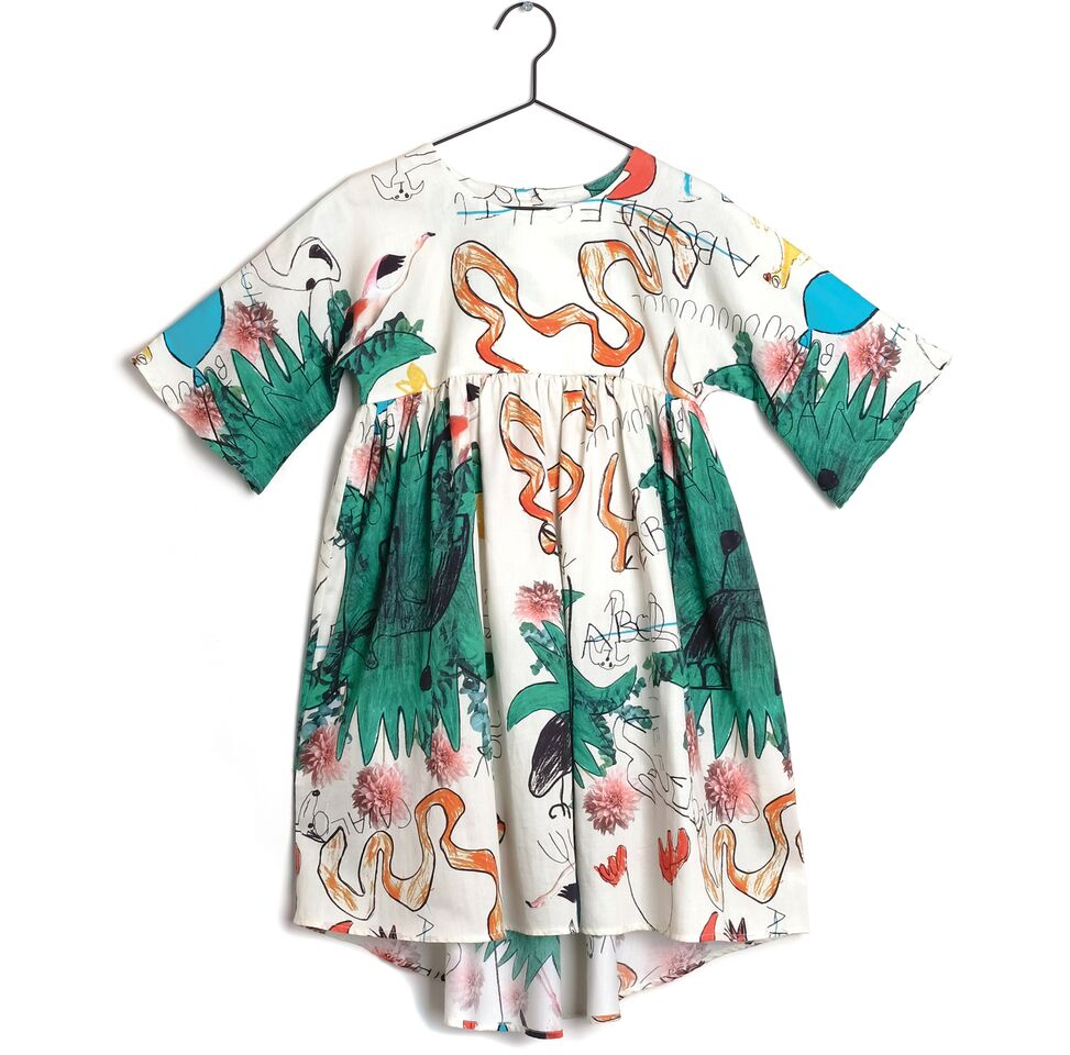 Wolf & Rita Silvia Snakes and Ladders Dress