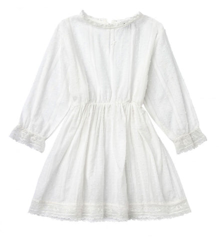 Tocoto Vintage Plumeti Lace Dress