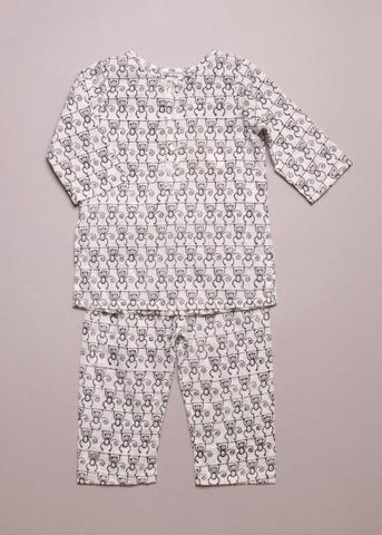 Little Paisley People Monkey Pajamas