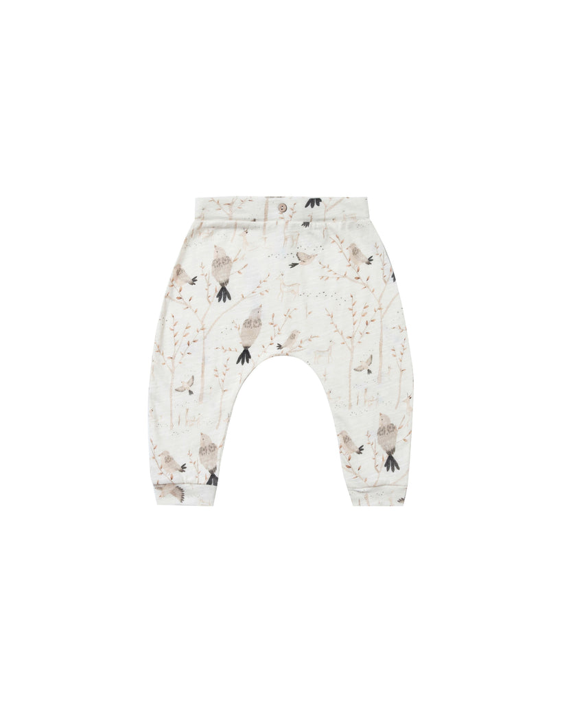 Rylee + Cru Winter Birds Slouch Pant