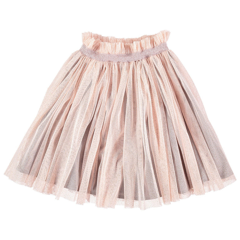 Tocoto Vintage Glittery Tulle Skirt