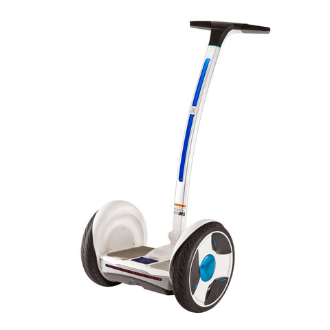 Ninebot E (Elite) White and Blue/Silver (US Warranty) - Future Unicycle  - 1