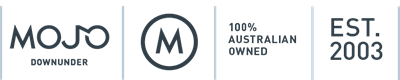 Mojo Downunder Australia Made and Own Established in 2003