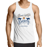 BONDI Lowdown - Mens Singlet Top - Mojo Downunder