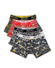 MAMBO 4 PACK TRUNKS Designed in Australia by 4 amazing Aussie and Kiwi's we made this off-shore su you can afford to keep the dream alive and support the designers  and Mambo . - Mojo Downunder