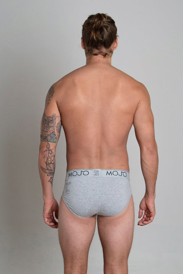 VARSITY BRIEF - LIGHT GREY