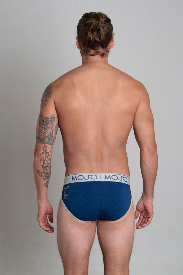VARSITY BRIEF - DARK BLUE - Mojo Downunder