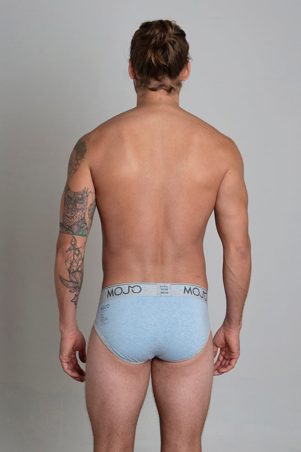 VARSITY BRIEF - LIGHT BLUE