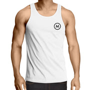 MOJO Lowdown - Mens Singlet Top - Mojo Downunder