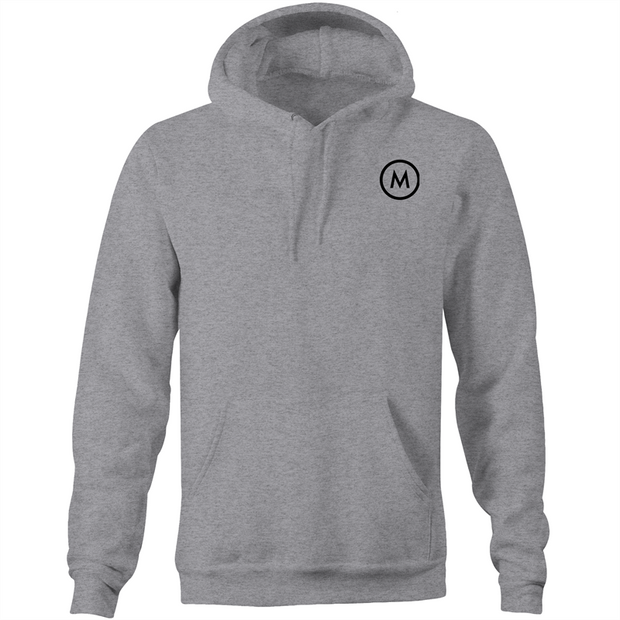 Pocket Hoodie M-LOGO only - Mojo Downunder