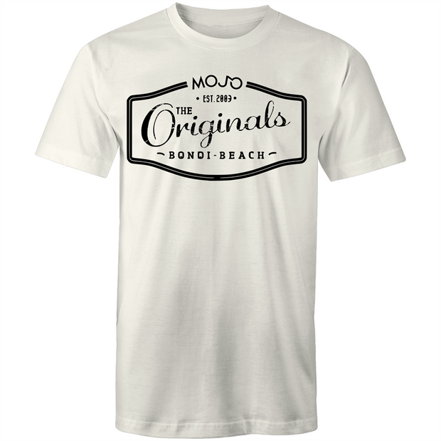 Originals WHITE - Mens T-Shirt - Mojo Downunder