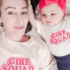 Girl Squad Onesie (multiple colors)