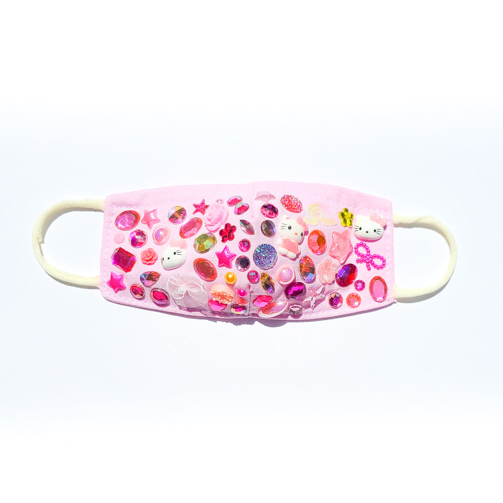 Toddler Pink Hello Kitty face mask
