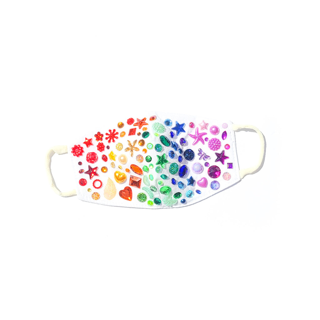 Youth Rainbow Twinkle Mask