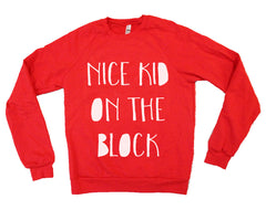 Nice kid on the block vintage crewneck
