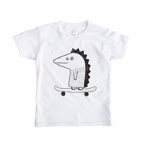 Declan The Skateboarding Dinosaur TEE