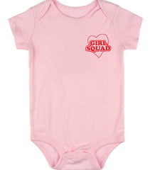 Girl Squad Pocket Design Onesie (multiple colors)