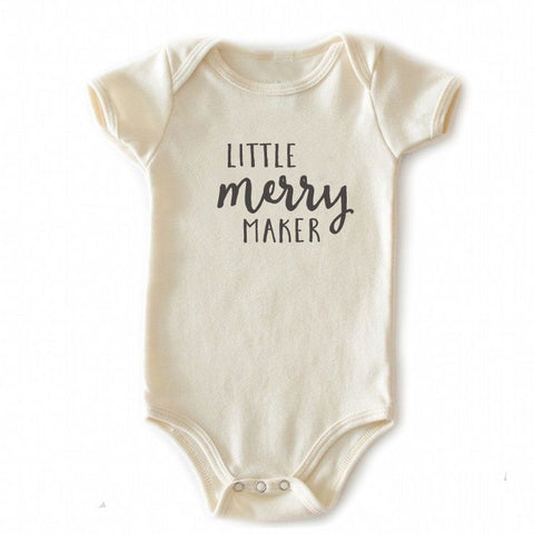 Little Merry Maker onesie