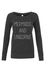 Mermaids and Unicorns Adult Pullover