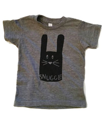 Snuggle Bunny Illustrated Kids tee shirt
