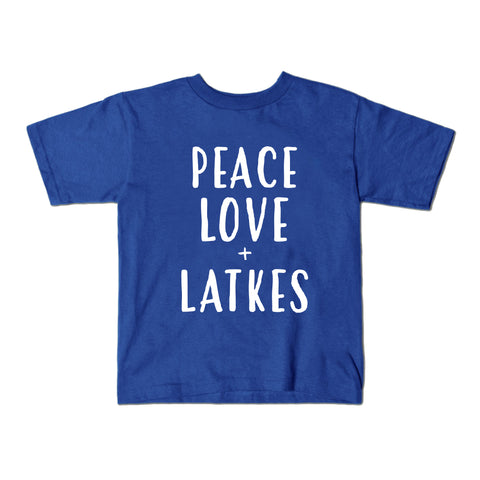 Peace, Love, & Latkes Tshirt
