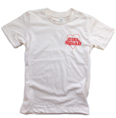 Girl Squad pocket Tshirt (child & adult)