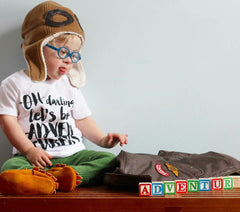 Let's Be Adventurers short sleeve tee
